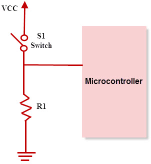 Pull-Down resistor configuration